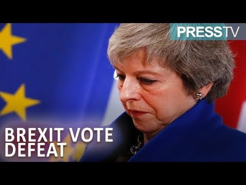 [17 January 2019] May suffers humiliating Brexit vote defeat - English