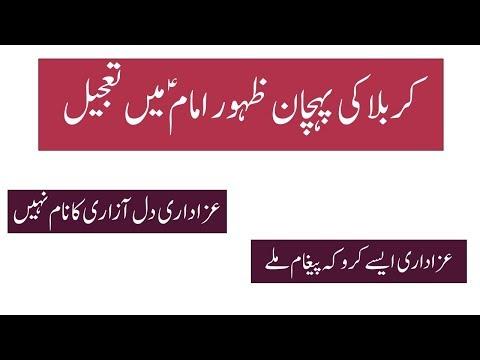 کربلا سے ظہور تک - Urdu