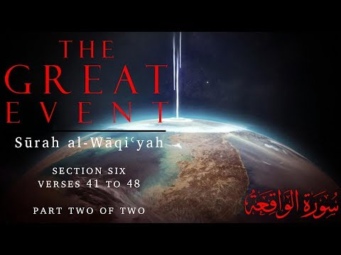 The Wreteched People (Surah al-Waqiyah - Part 13) - English