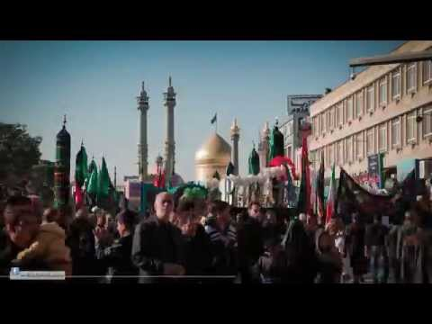 Documentry: Timelapse Iran Qom - The Day of Arbaeen Imam Hussain a.s. -Urdu