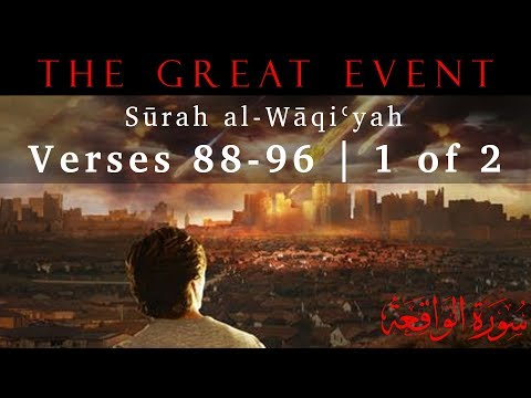 Summary of the Three Groups of People (Surah al-Waqiyah - Part 26) - English