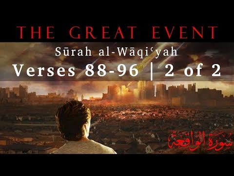 Summary of the Three Groups of People (Surah al-Waqiyah - Part 27) - English