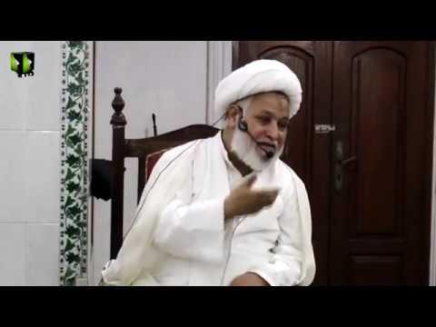 [Dars-e-Ikhlaaq] Topic: نوجوانوں کے اخلاقی مسائل  | H.I Ghulam Abbas Raesi - Urdu