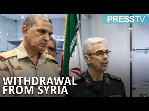 [19 March 2019] Iran\'s military chief discusses US withdrawal from Syria - English