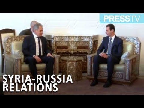 [20 March 2019] Syrian president meets Russian defense minister - English