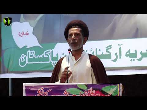 [Speech] Moulana Mukhtar Ali Rizvi | Seerat Ali (as) Nijaat e Bashariyat Convention 2019 - Sindhi