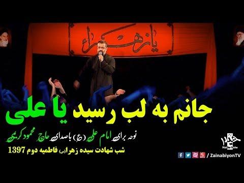 جانم به لب رسید ز آه تو یاعلی (مداحی دلنشین) محمود کریمی | Farsi