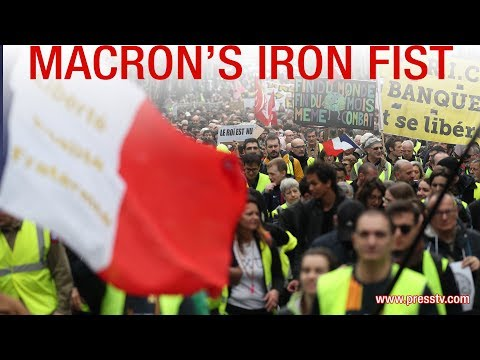 [24 March 2019] Debate: Macron\'s iron fist - English