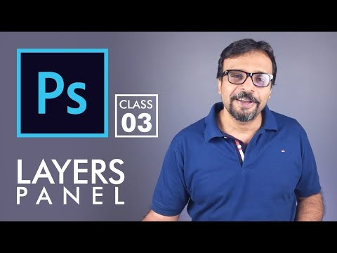 Layers Panel - Adobe Photoshop for Beginners - Class 3 | Urdu Hindi