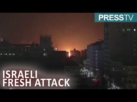 [26 March 2019] Israeli warplanes attack northern Gaza strip - English