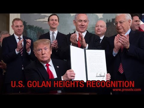 [28 March 2019] The Debate -  U.S. Golan Heights recognition - English