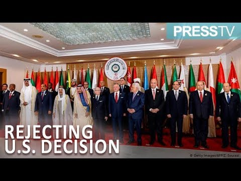 [01 April 2019] Arab League chief rejects U.S. decision to recognize Israel sovereignty over 'Syria's Golan' - Eng