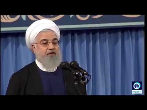 [4 April 2019] Iran president warns US & Israel against separating Golan Heights from Syria - English