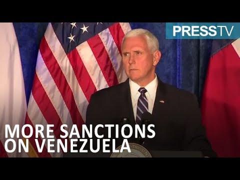 [6 April 2019] Pence announces new sanction against Venezuela-flagged oil tankers - English
