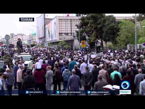 [13 April 2019] Nationwide rallies held in Iran condemning US designation of IRGC as