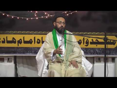 [Lecture] Topic:  Imam Zamana ke Sahee Marifat or Zahoor ke tayyari | H.I Sadiq Raza Taqvi - Urdu
