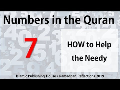 How to Help the Needy - Ramadhan Reflections 2019 [Day 7] - English