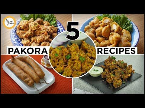 [Quick Recipes] 5 Pakora Recipes (Ramzan Special Recipes) - English Urdu