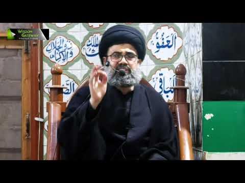 [Lecture 9] Topic: فلسفۂ غیبت | H.I Ahmed Iqbal Rizvi | Mah-e-Ramzaan 1440 - Urdu