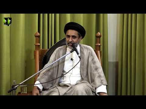 [Lecture 3] Topic:  امام زمانہ عج اور قرآن | H.I Muhammad Haider Naqvi | Mah-e-Ramzaan 1440 - Urdu