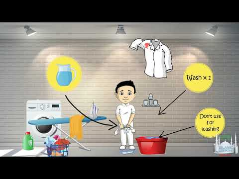 How to Purify something with Water - Ahkam Lesson 6 - C2 - English