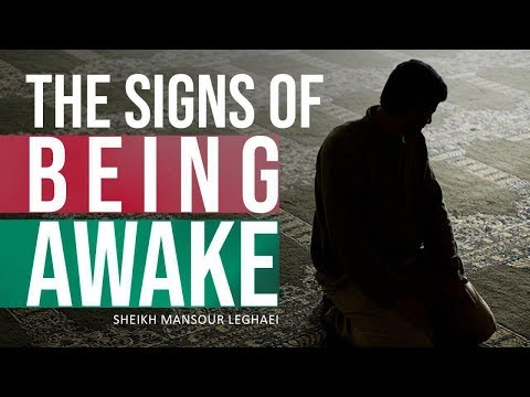 The Signs of Being Awake | Thankfulness to the Creator | Shaykh Mansour Leghaei | English
