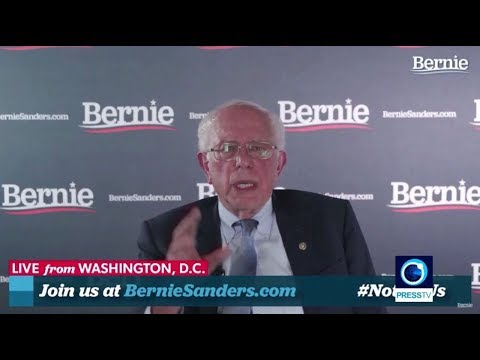 [20 June 2019] Sanders calls Trump racist, sexist, xenophobic, bigot - English