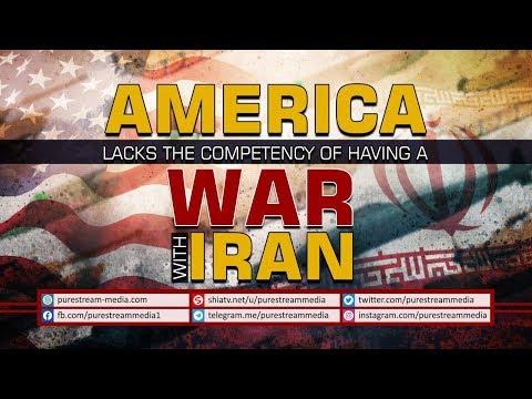 AMERICA Lacks the Competency of having a WAR with IRAN | Farsi Sub English