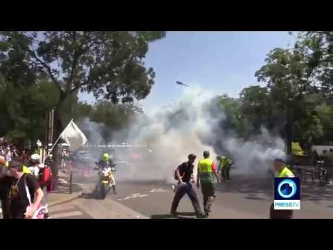 [6 July 2019] France: Yellow Vest protesters hit Paris for 34th weekend of demos - English