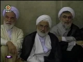 Leader Ayatullah Khamenei advices Elite to trust GOD - English