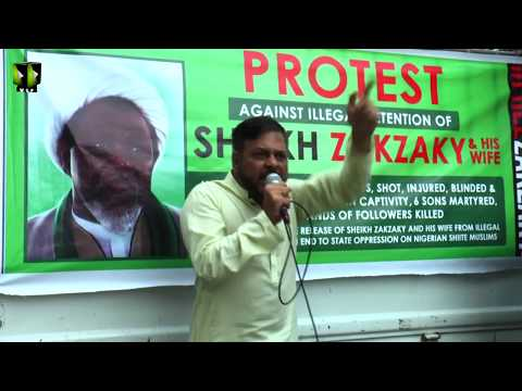 [Speech] Global Free Shiekh Zakzaky Protest Day | Br. Rashid Rizvi | 28 July 2019 - Urdu