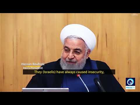 [15 August 2019] Rouhani has called Israel the root cause of insecurity and terrorism in Middle East - English