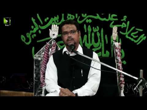 [01] Topic: Imam Ali (as) Mazloom Tareekh   Dr. Zahid Ali Zahidi   Muharram 1441/2019 - Urdu
