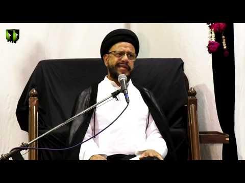 [04] Topic: Accept Islam As A Challenge | H.I Syed Zaki Baqri | Muharram 1441 - Urdu