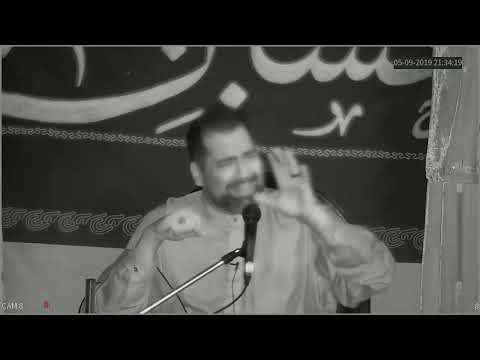 [6th Night]  Topic:Less is more in a culture of Extravagant spending Br. Syed Asad Jafri |Muharram 1441/2019 English