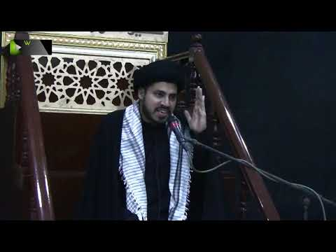 [01] Topic: Nusrat-e-Imam Hussain (as) | Moulana Haider Ali Jafri | Muharram 1441/2019 - Urdu