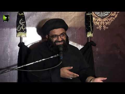 [06] Topic: Ibrat e Ashura | H.I Kazim Abbas Naqvi | Muharram 1441/2019 - Urdu