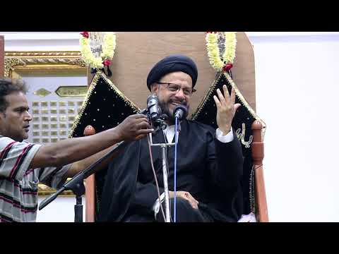 5th Majlis Shab 5th Muharram 1441/04.09.2019 Topic:Challenges Faced By Today\'s Youth I HI Syed Mohammad Zaki Baqri-Urdu