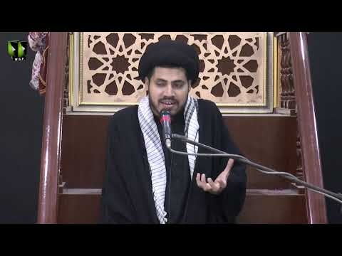 [08] Topic: Nusrat-e-Imam Hussain (as) | Moulana Haider Ali Jafri | Muharram 1441/2019 - Urdu
