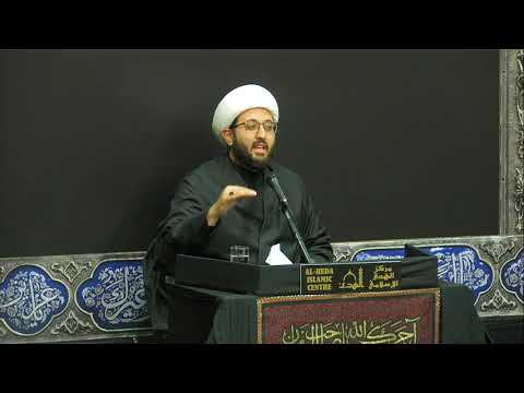 [Night 10 ] Topic: Love of Ahlul Bayt Sheikh Amin Rastani  Muharram 1441/2019 English