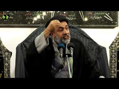 [05] Topic: Quran, Karbala Or Ham | H.I Muhammad Haider Naqvi | Muharram 1441 - Urdu