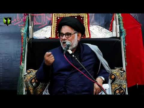 [02] Topic: Marjaeyat , Masomeen (as) ke Nigah May | H.I Hasan Zafar Naqvi | Muharram 1441/2019 - Urdu