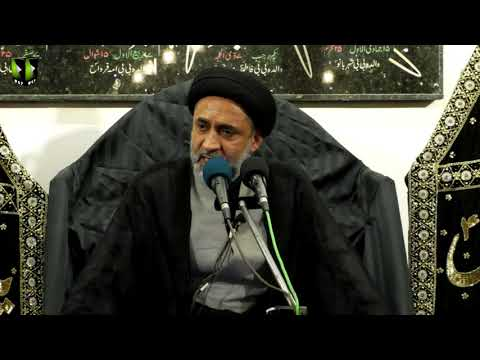 [07] Topic: Quran, Karbala Or Ham | H.I Muhammad Haider Naqvi | Muharram 1441 - Urdu