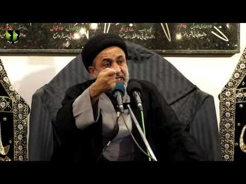 [10] Topic: Quran, Karbala Or Ham | H.I Muhammad Haider Naqvi | Muharram 1441 - Urdu