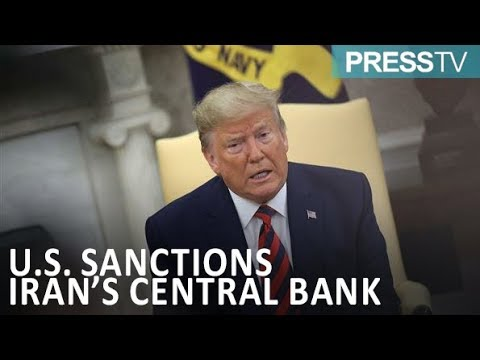 [21 September 2019] US imposes sanctions on Iran\'s central bank: Trump - English