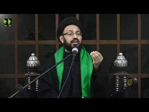 [04] Topic: Imam Sajjad (as) ke Fikri Tehreek | H.I Sadiq Raza Taqvi | Muharram 1441/2019 - Urdu