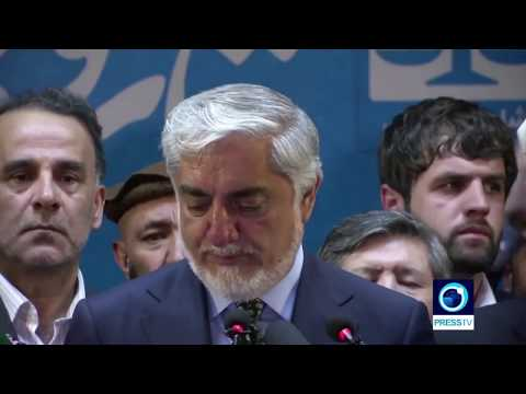 [01/10/19] Afghanistan s Abdullah claims wins first round of election - English
