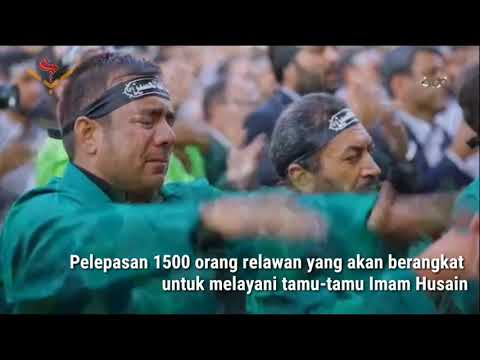 1500 Orang Berangkat Untuk Layani Peziarah Arbain | Farsi