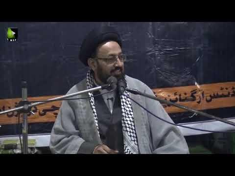 [06] Topic: Imam (aj) kay Liey Tayyari Or Rouhani Rabta | H.I Sadiq Taqvi | Safar 1441 - Urdu
