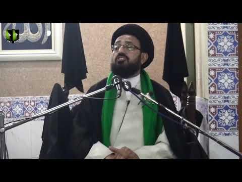 [07] Topic: Imam (aj) kay Liey Tayyari Or Rouhani Rabta | H.I Sadiq Taqvi | Safar 1441 - Urdu